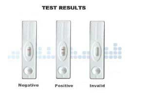 quickvue one step hcg combo test how to read results